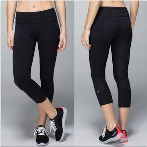 Lululemon Inspire Crop II Luxtreme Leggings Black